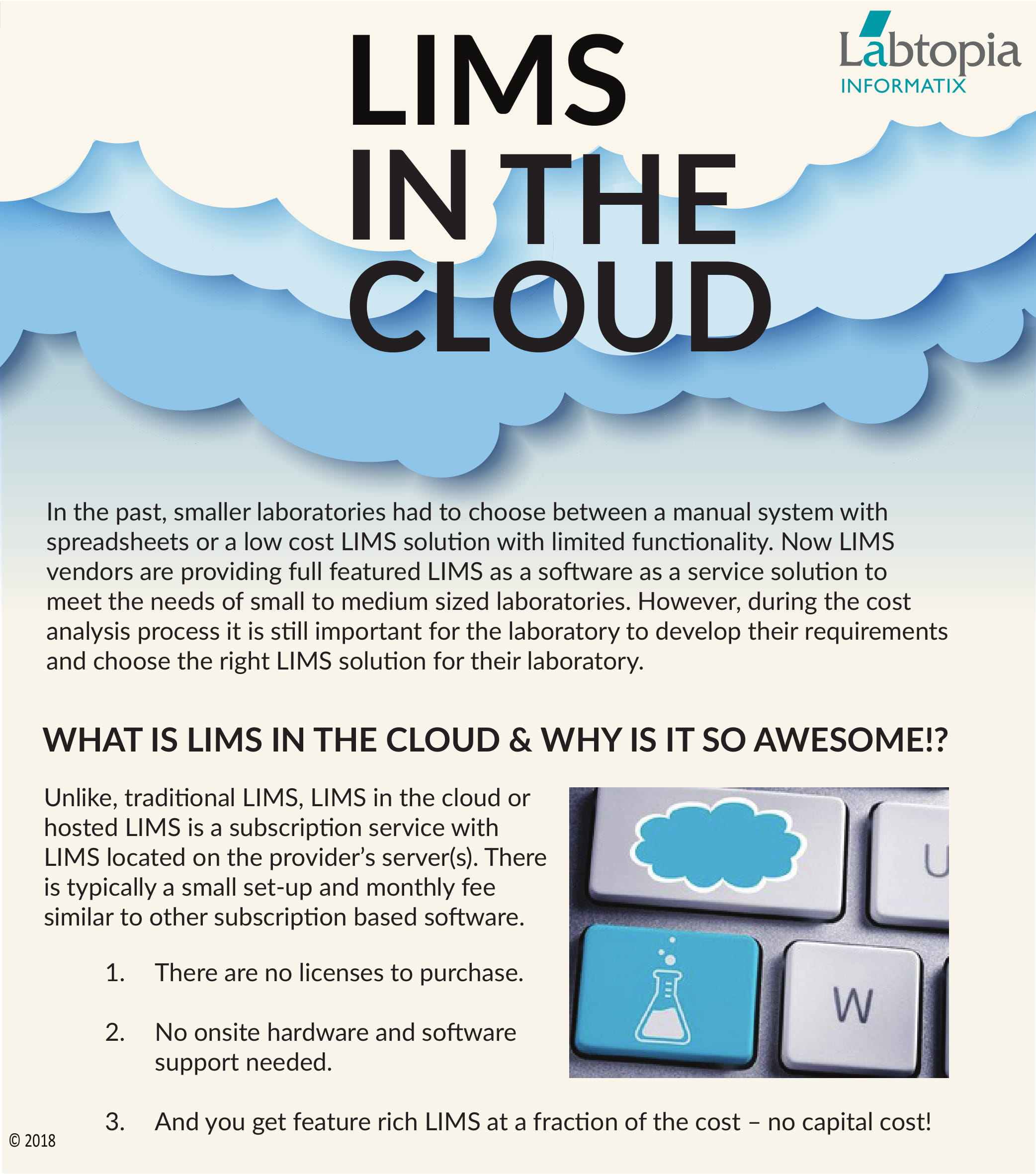 LIMS in the Cloud Infographic | Houston, Texas USA |