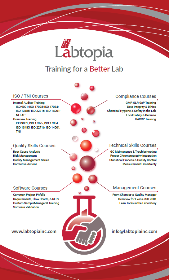Labtopia Training Overview