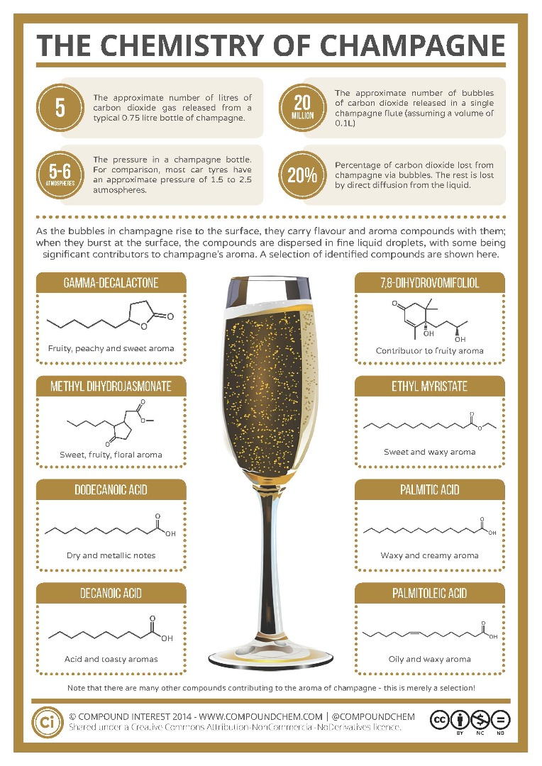 Chemistry of Champagne