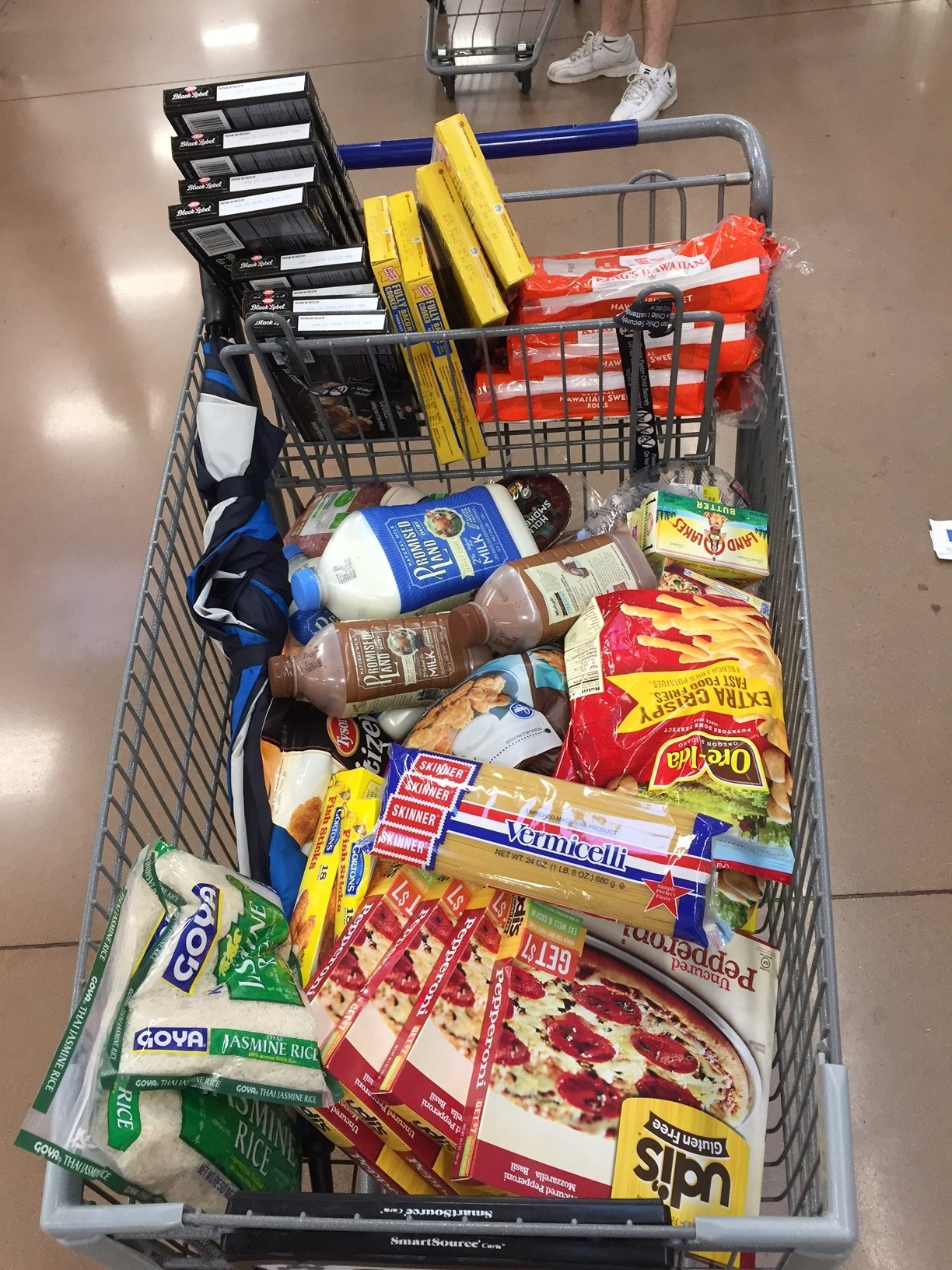 Paul, Jeanne's husband, does a  Tuesday morning grocery dash to help friends and neighbors (dash a.k.a waited in line for …